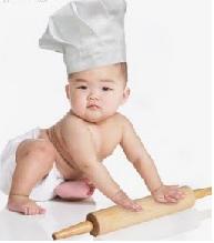 Gambar 1. Bayi dengan motorik baik oleh karena kecukupan ASI